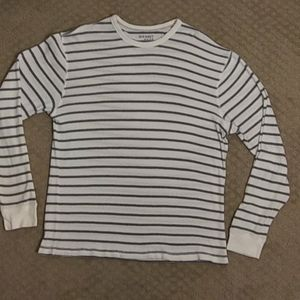 Men's lightweight striped sweater